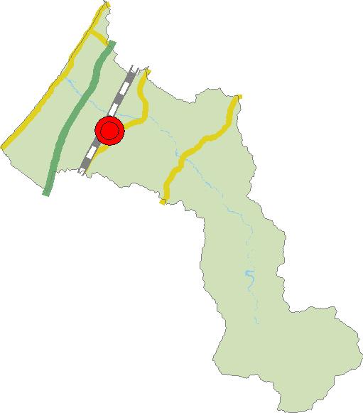 胎内市概略図
